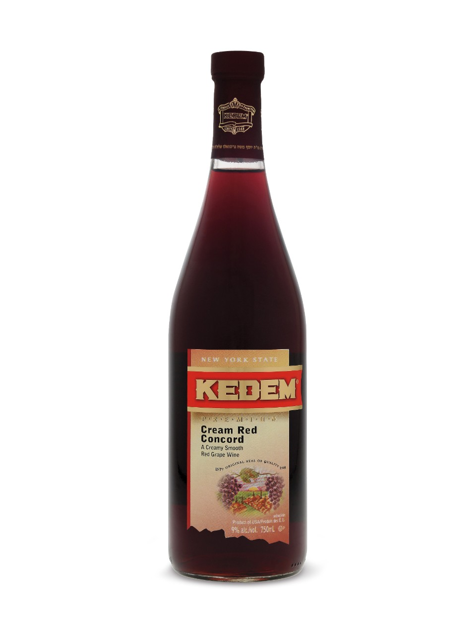 Image for Kedem Cream Red Concord KPM from LCBO