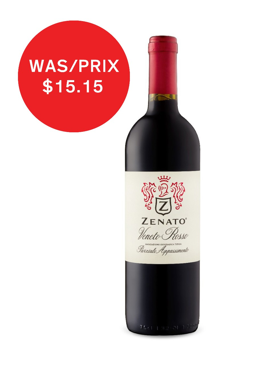 Image for Zenato Veneto Rosso IGT from LCBO