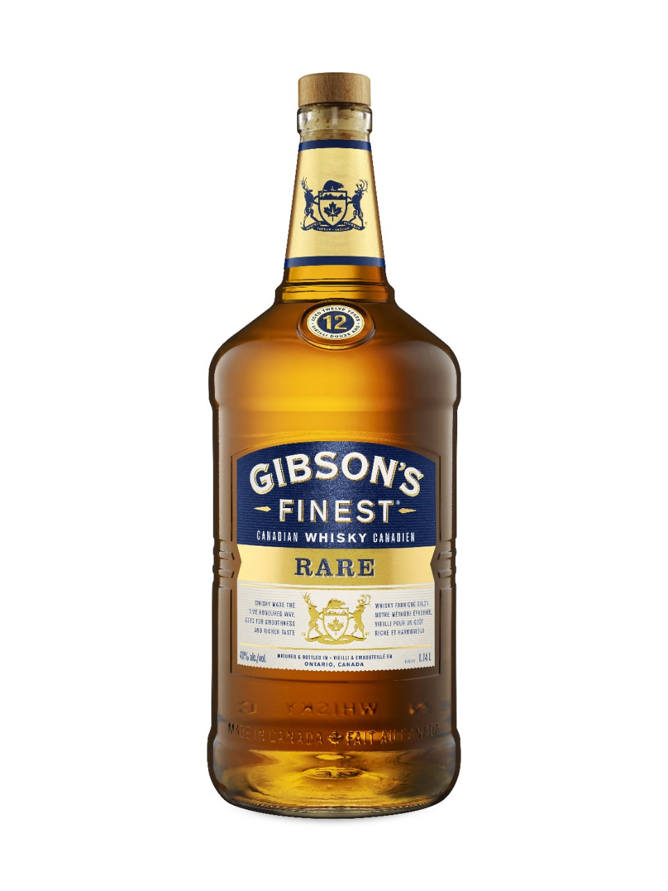 Image for Gibson's Finest Rare 12 Year Old Whisky from LCBO
