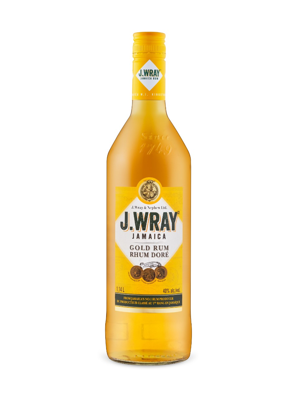 Image for J. Wray Gold Rum from LCBO