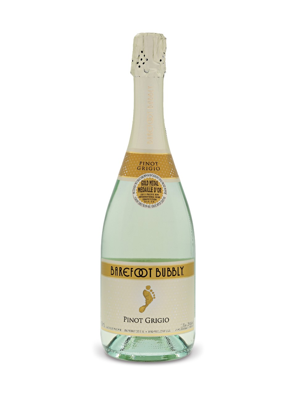 Image for Barefoot Bubbly Pinot Grigio from LCBO
