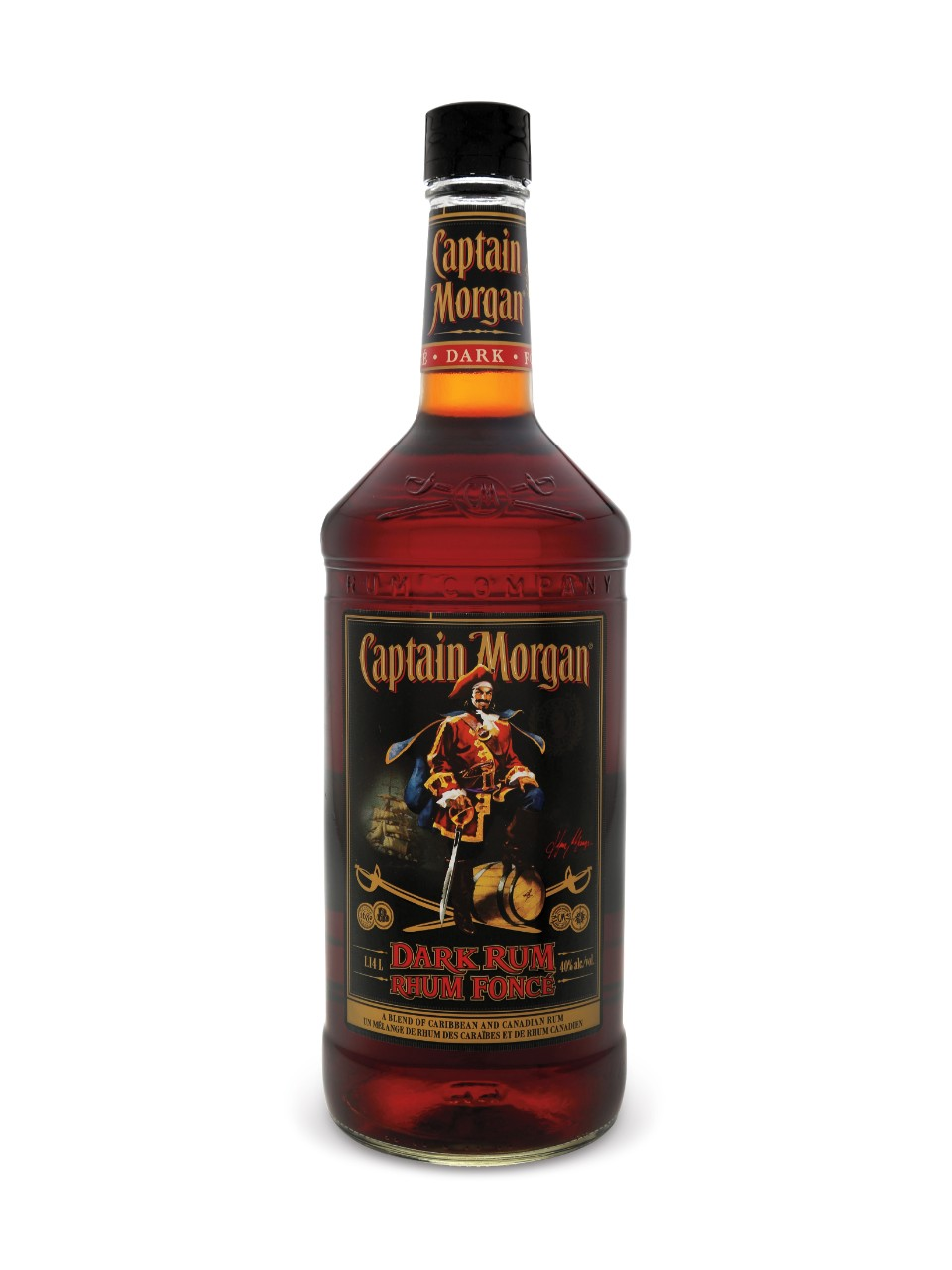 Rhum brun Captain Morgan