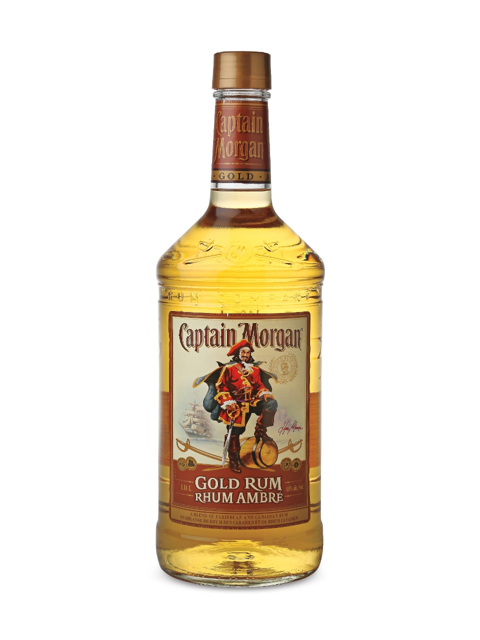 Image for Captain Morgan Gold Rum from LCBO