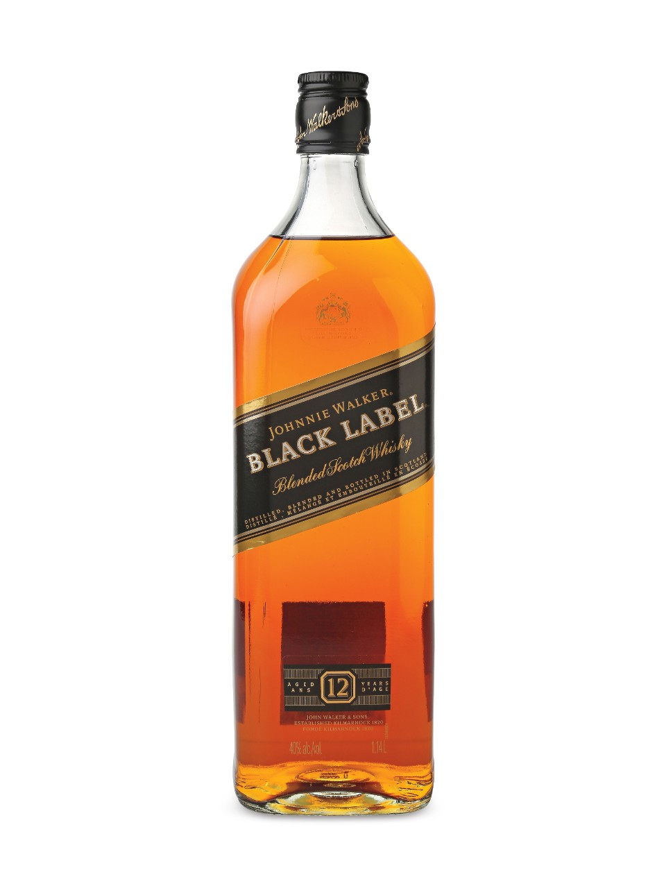 Image for Johnnie Walker Black Label Scotch Whisky from LCBO