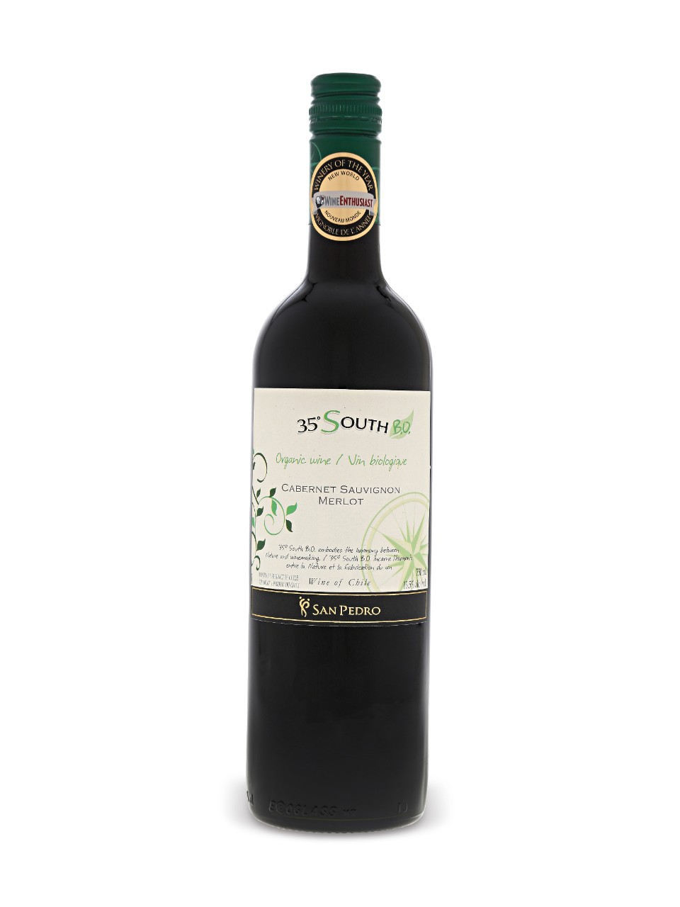 Image for 35° South Cabernet Sauvignon Merlot Organic from LCBO