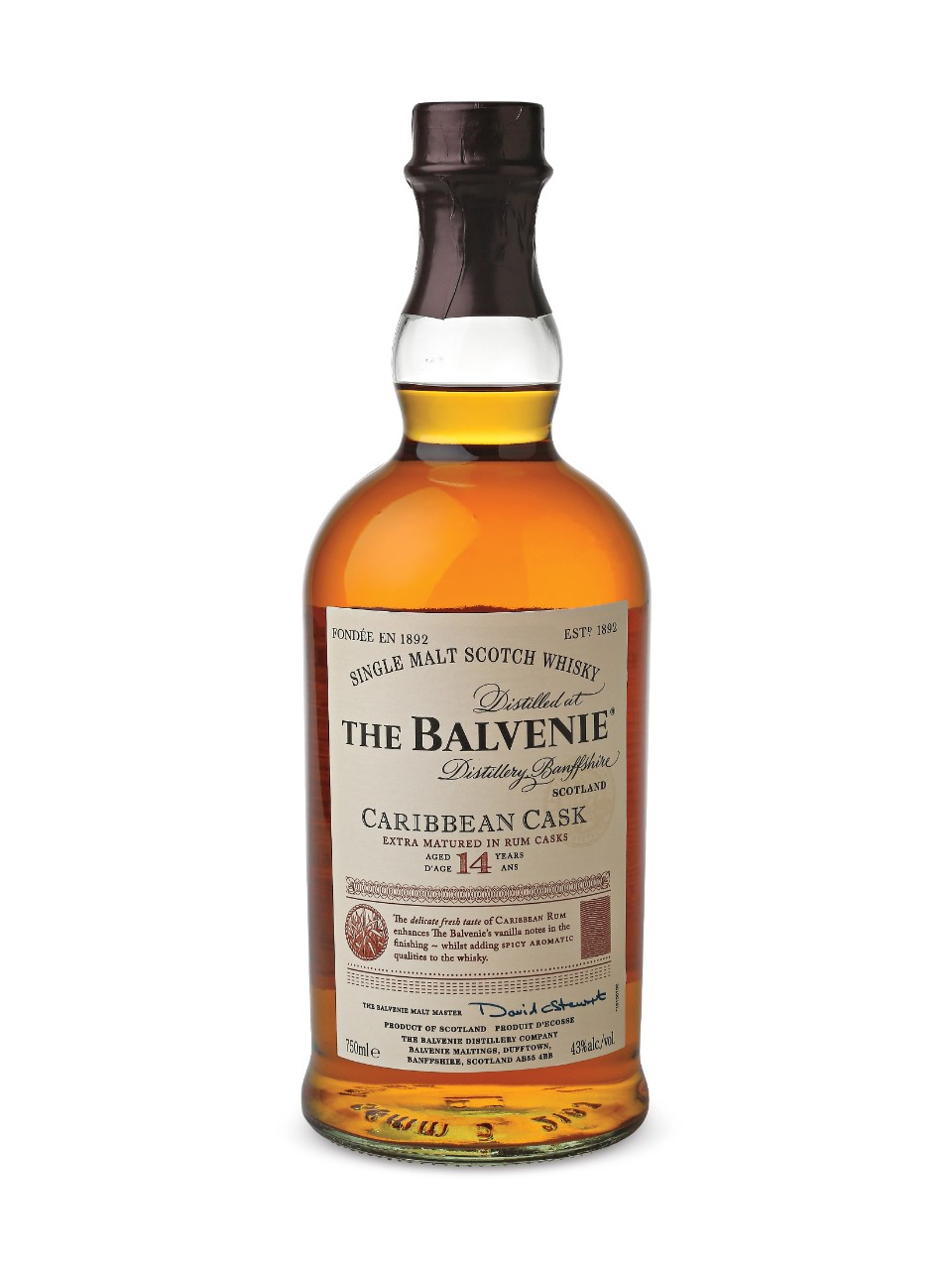 Image for The Balvenie Caribbean Cask 14 Year Old Scotch Whisky from LCBO