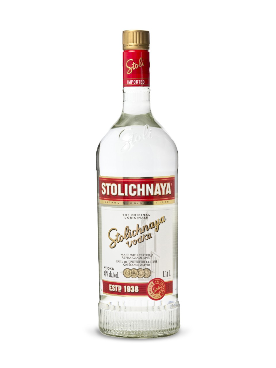 Stolichnaya Vodka from LCBO