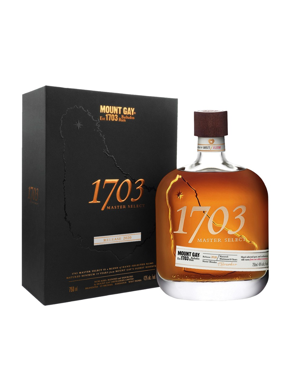 Image for Mount Gay 1703 Master Select from LCBO