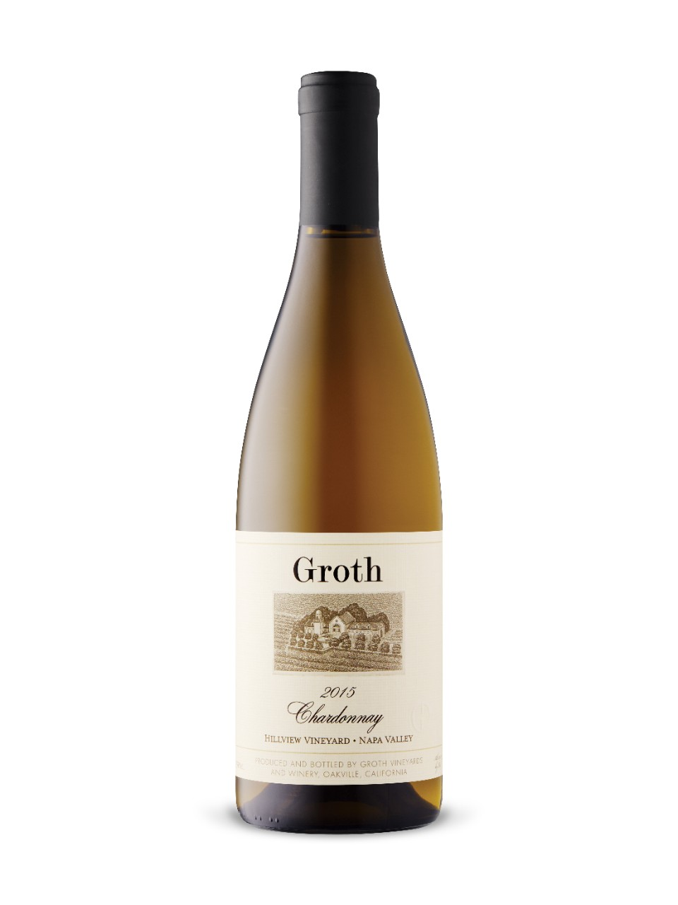 Image for Groth Hillview Vineyard Chardonnay 2015 from LCBO