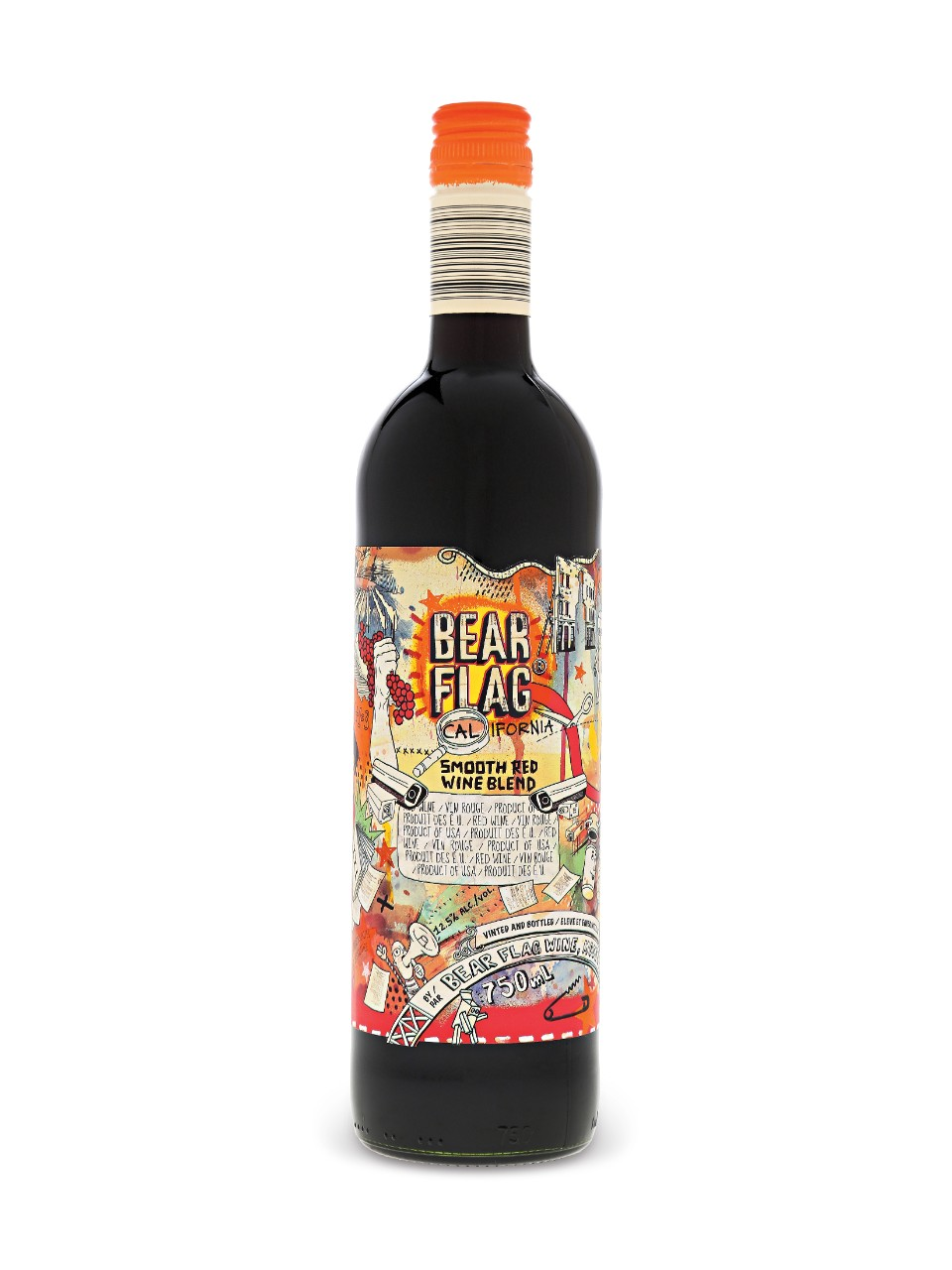 Image for Bear Flag Smooth Red Blend from LCBO