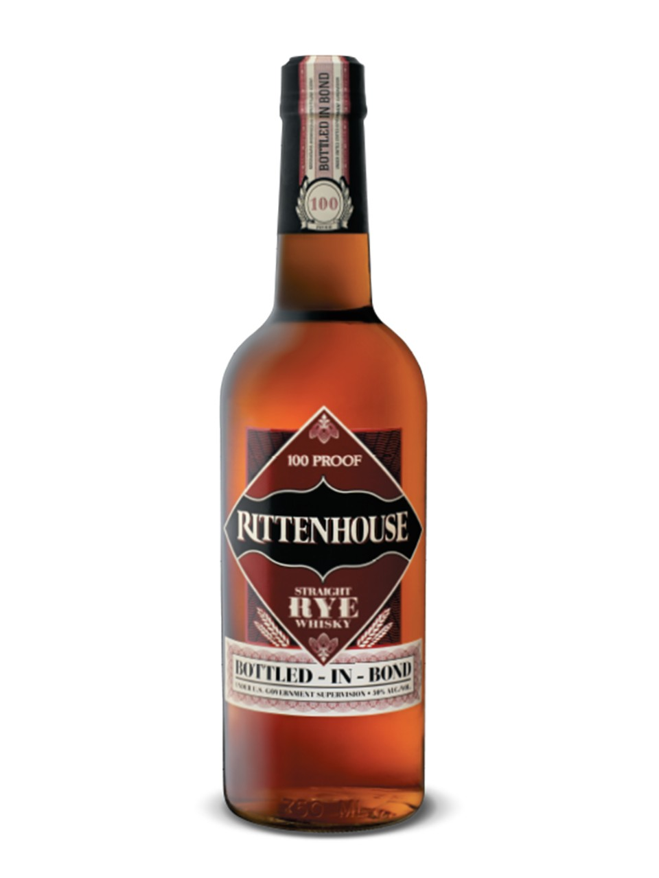 Image for Rittenhouse Straight Rye Whisky 100 Bottled In Bond from LCBO