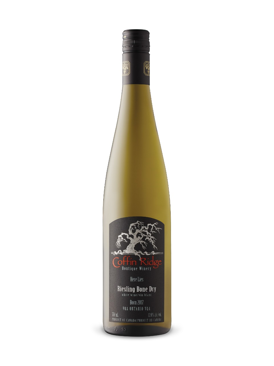 Riesling Bone Dry Coffin Ridge 2015