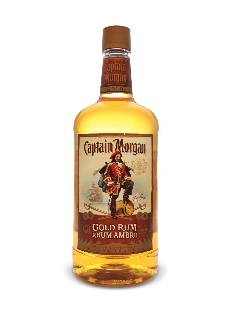Image for Captain Morgan Gold Rum (PET) from LCBO