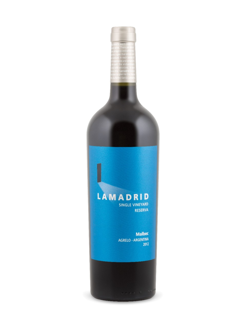 Malbec Reserva Vignoble Unique Lamadrid 2012