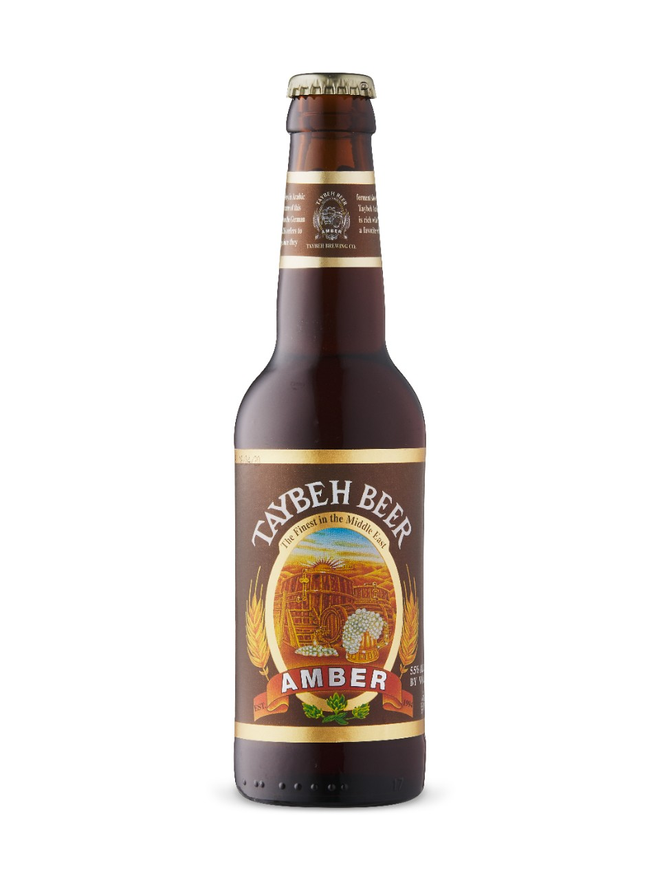 Image for Amber Taybeh Beer from LCBO