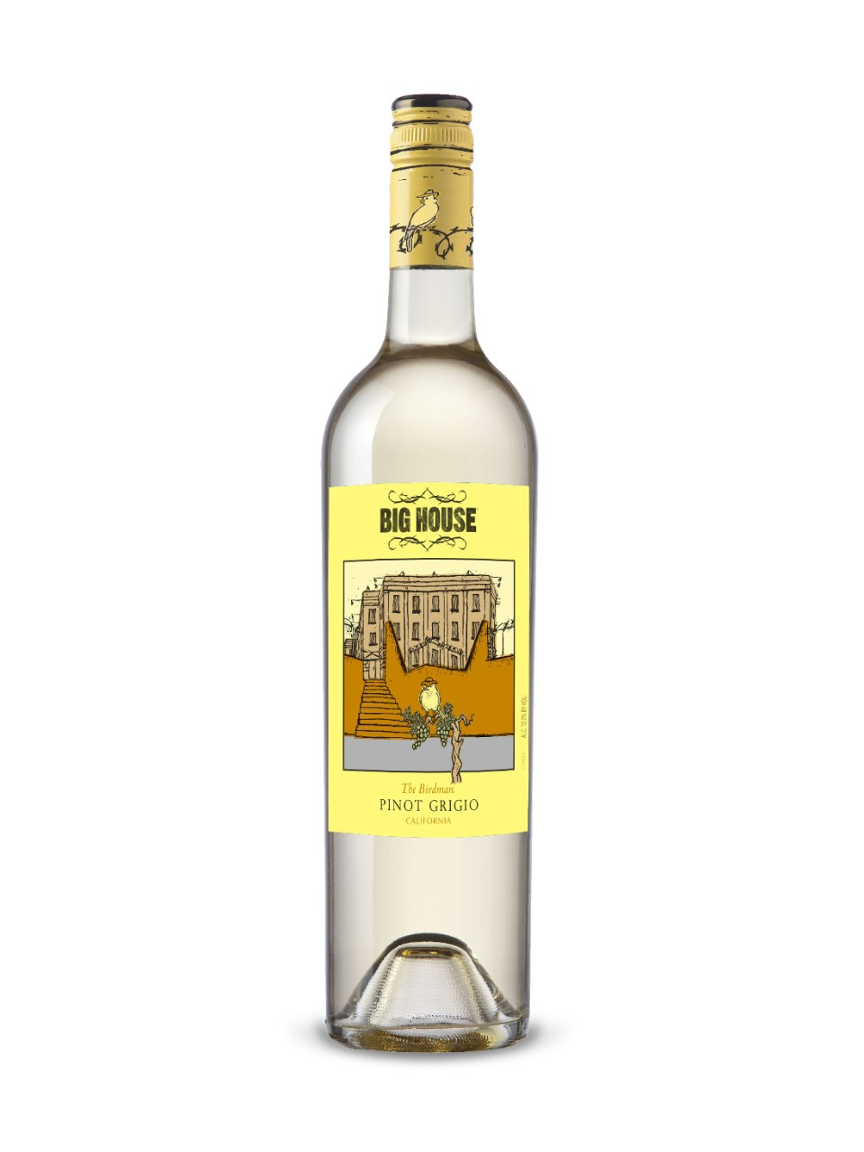 Image for Big House The Birdman Pinot Grigio from LCBO