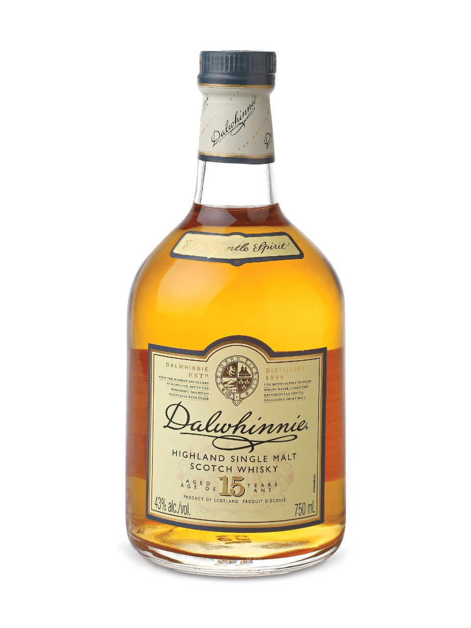 Image for Dalwhinnie 15 Year Old Single Highland Malt Scotch Whisky from LCBO