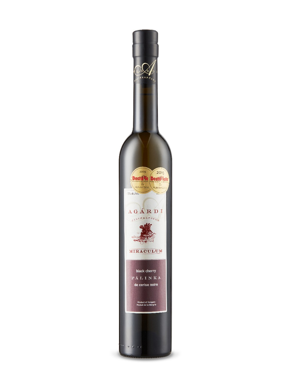 Image for Agardi Miraculum Black Cherry Palinka from LCBO