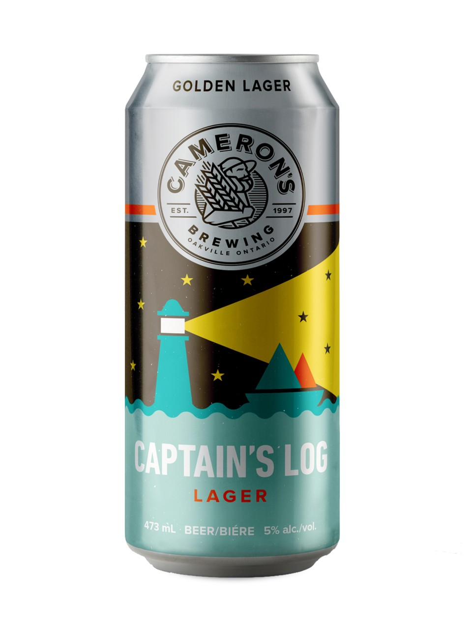 Cameron's Captain's Log Lager from LCBO