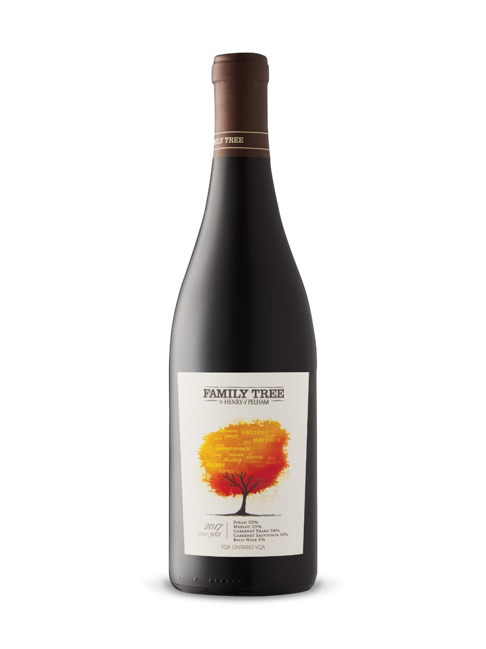 Image for Henry of Pelham Family Tree Red 2016 from LCBO