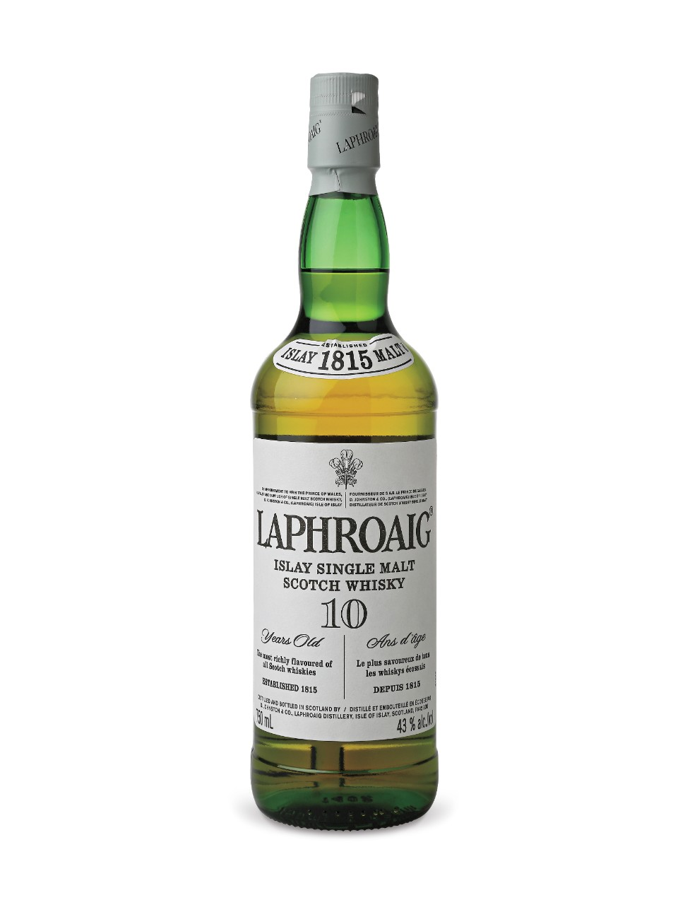 Laphroaig 10 Year Old Islay Single Malt Scotch Whisky from LCBO