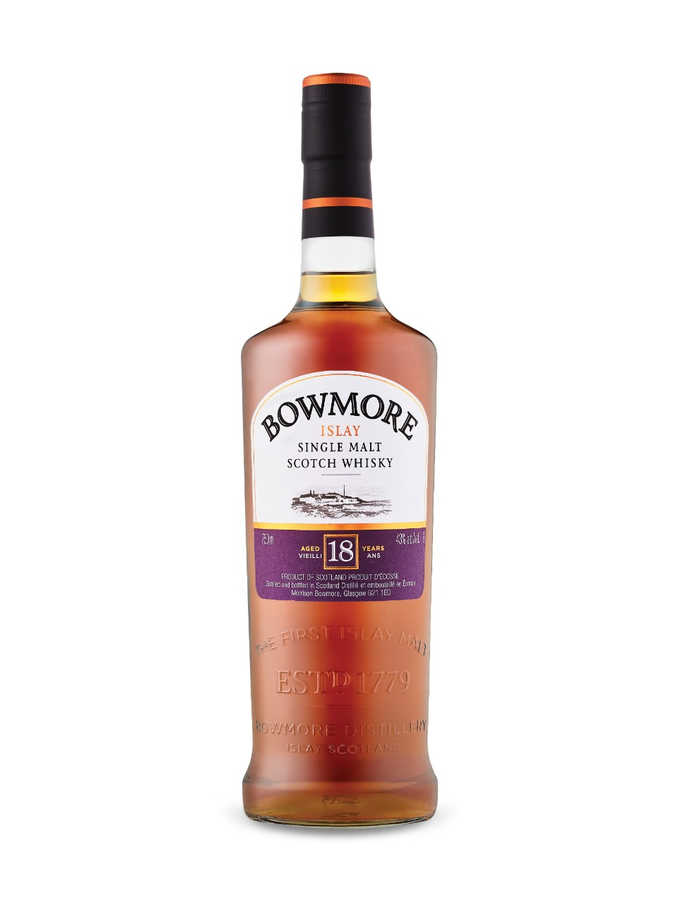Image for Bowmore 18 Year Old Islay Single Malt from LCBO