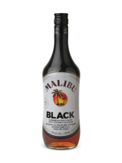 Malibu Black Coconut Flavoured Rum
