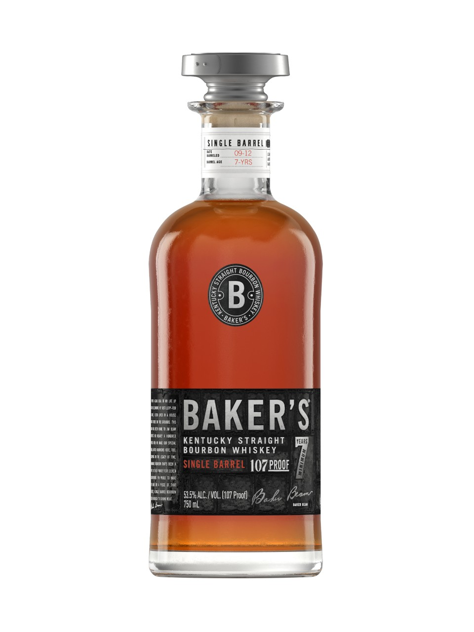 Image for Baker's Kentucky Straight Bourbon Whiskey from LCBO