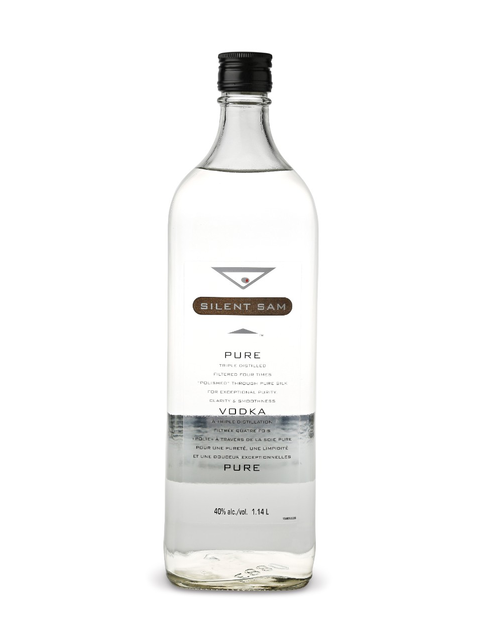 Image for Silent Sam Vodka from LCBO