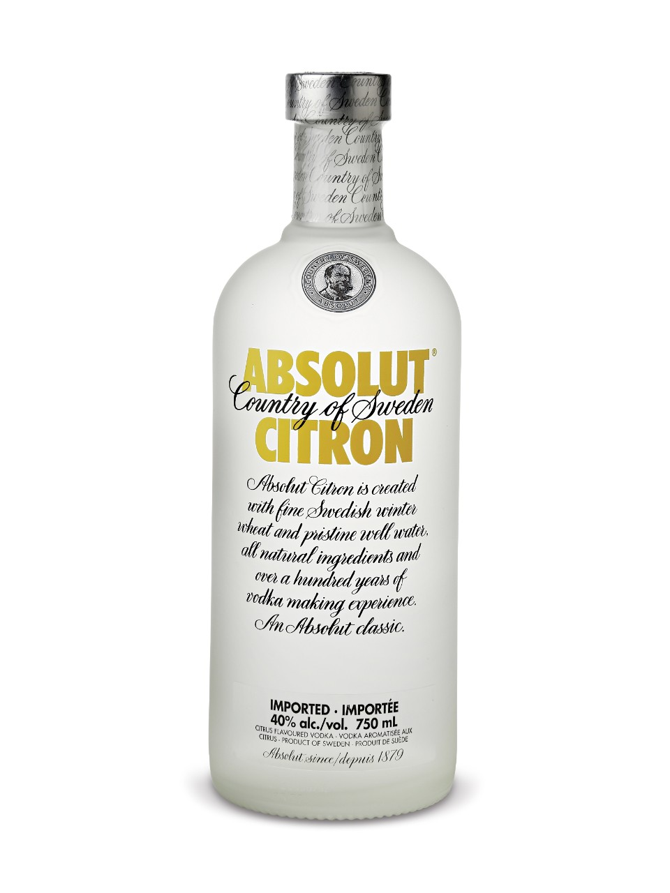 Image for Absolut Citron Vodka from LCBO
