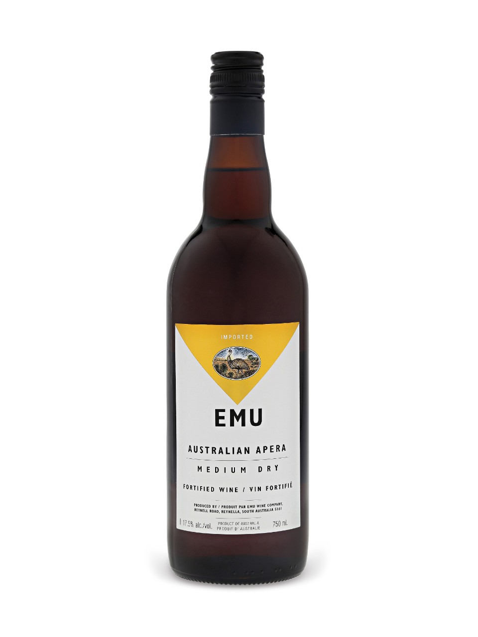 Image for Emu Amontillado Medium Dry from LCBO
