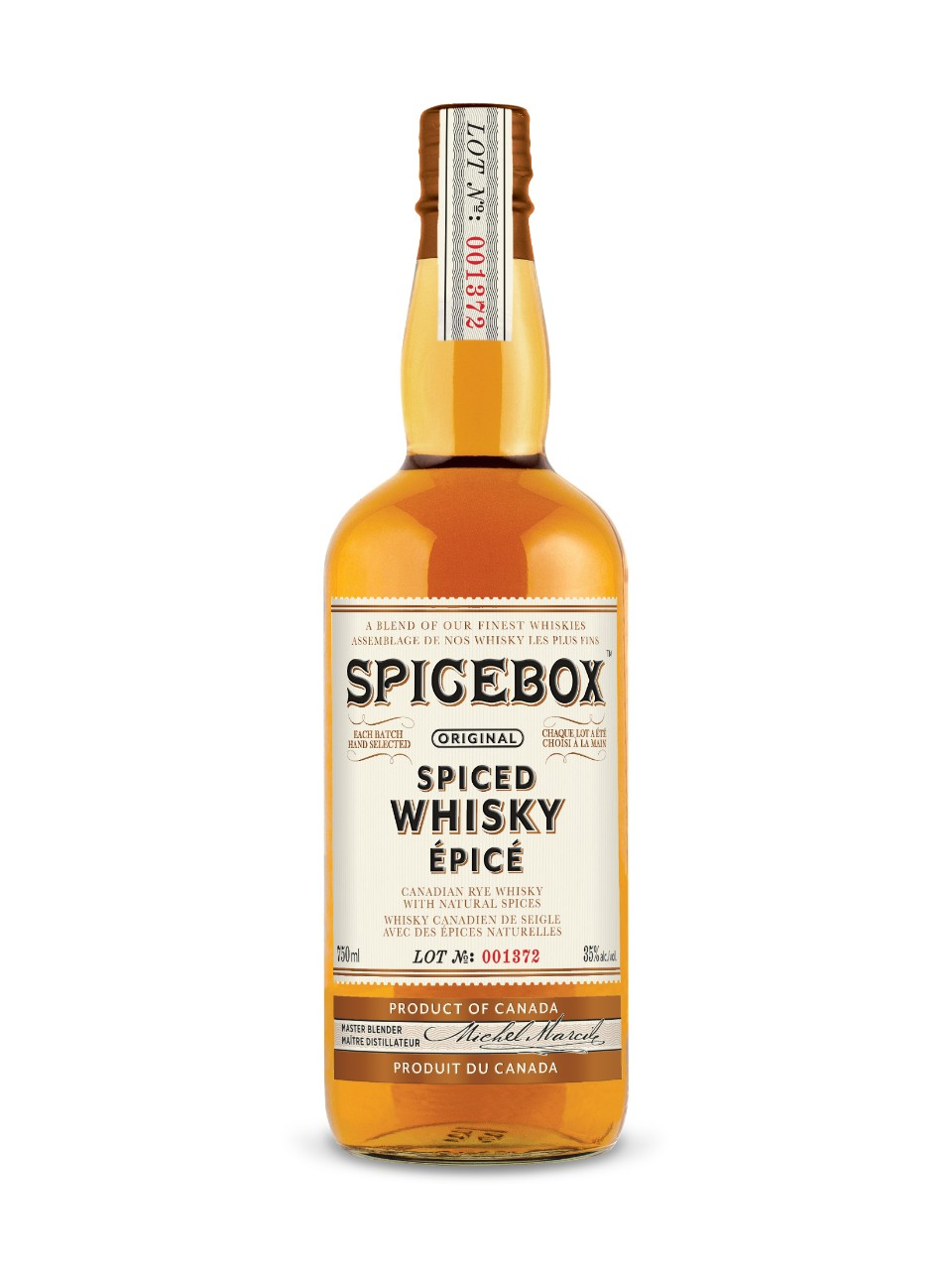 Spicebox Canadian Spiced Whisky from LCBO