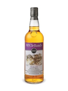 Whisky écossais Single Malt des Highlands McClelland's