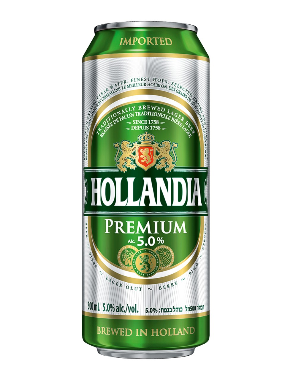 Hollandia Lager Beer from LCBO