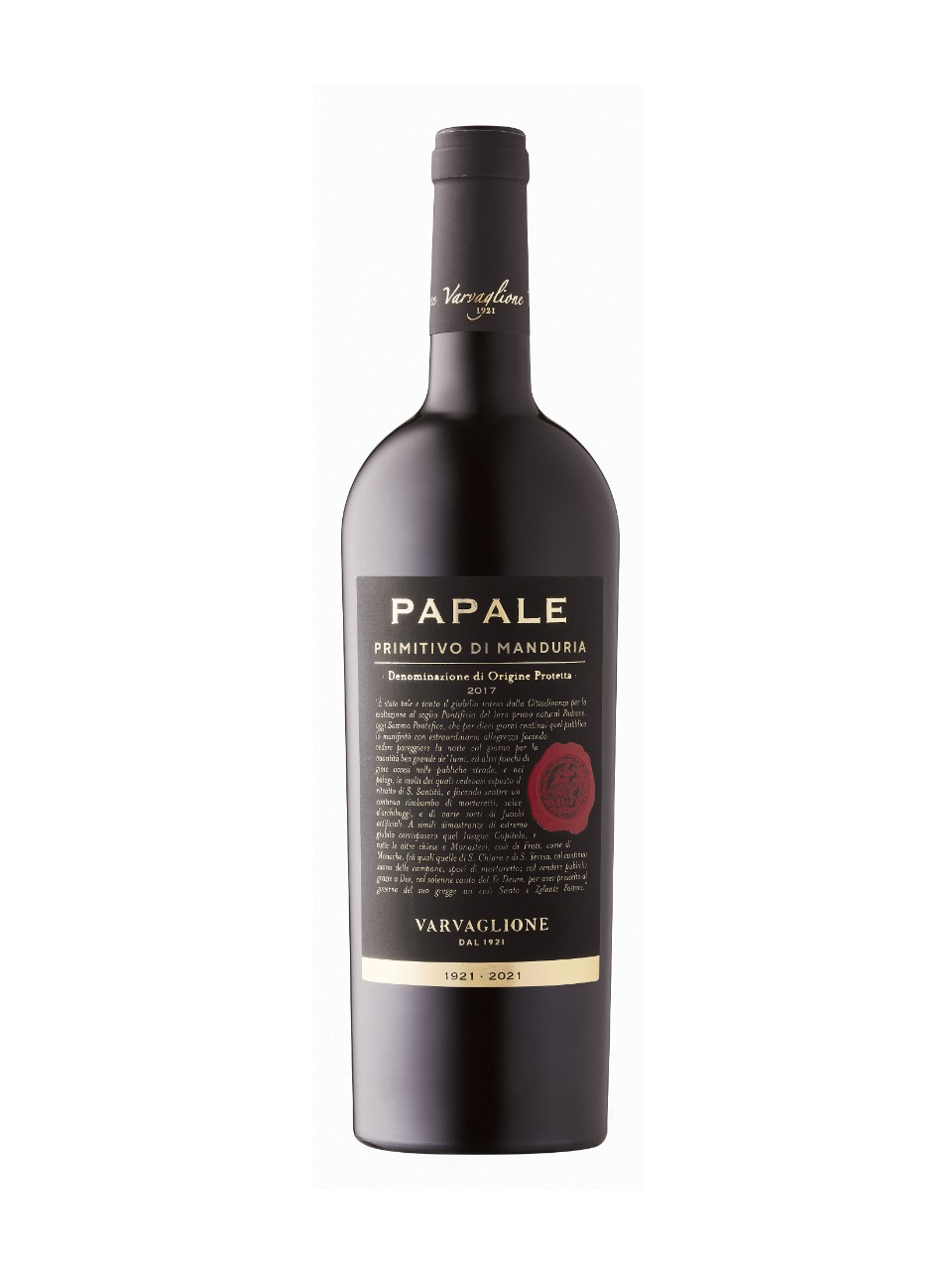 Image for Papale Linea Oro Primitivo di Manduria 2015 from LCBO