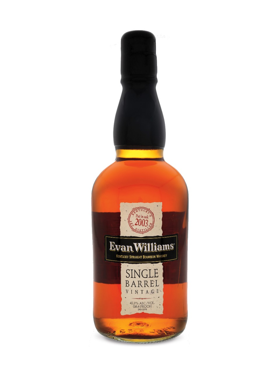 Image for Evan Williams Single Barrel Bourbon from LCBO