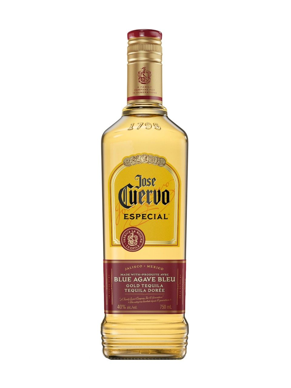 Image for Jose Cuervo Especial Gold Tequila from LCBO