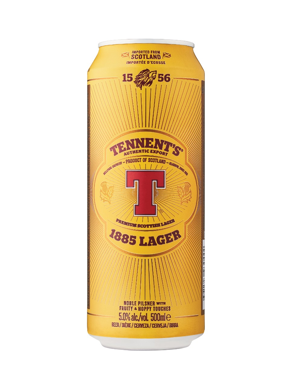 Image for Tennent's Export Lager from LCBO