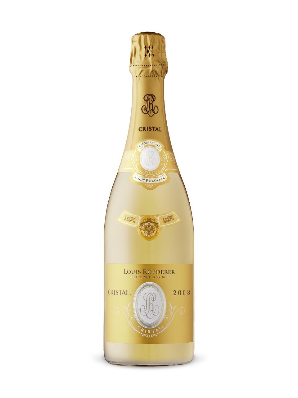 vintage cristal champagne