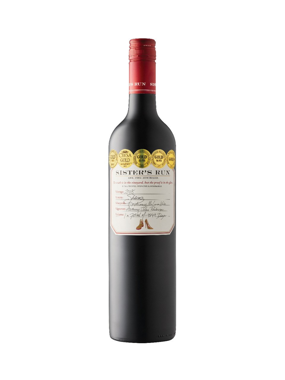 Sister's Run Epiphany Shiraz 2018 from LCBO