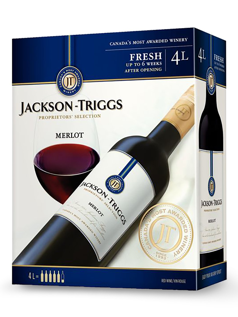 Jackson-Triggs Merlot Bag in Box