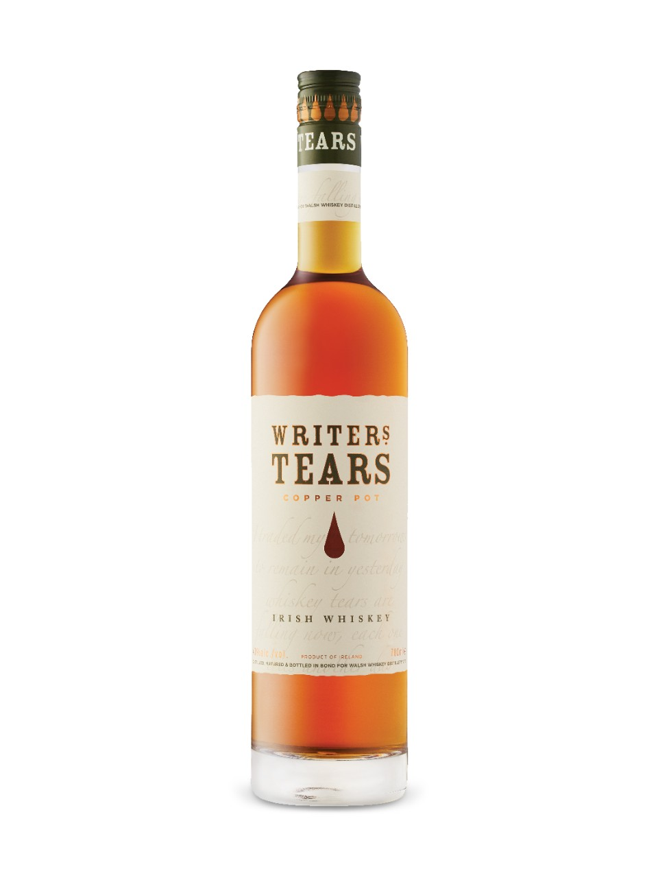 Image for Writers' Tears Copper Pot Irish Whiskey from LCBO