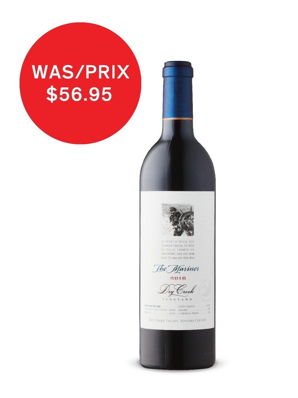 Image for Dry Creek The Mariner Meritage 2013 from LCBO