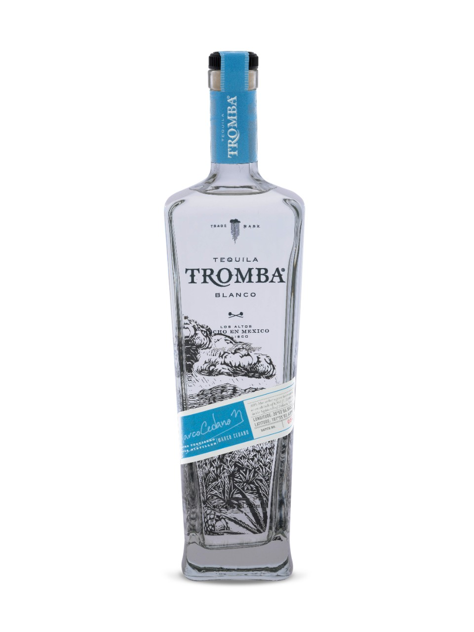 Image for Tequila Tromba Blanco from LCBO