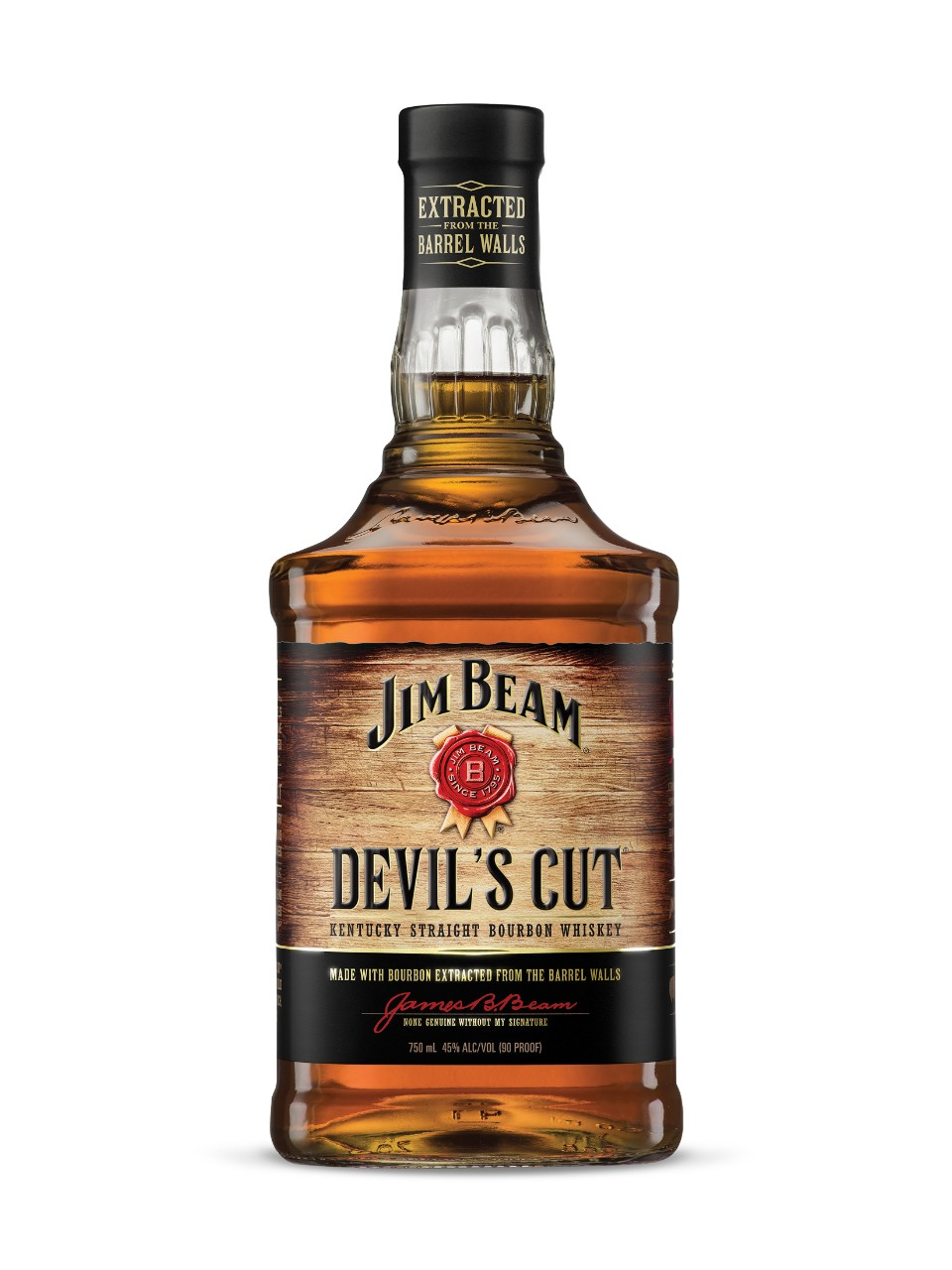 Kentucky Staight Bourbon Whiskey Jim Beam Devil's Cut