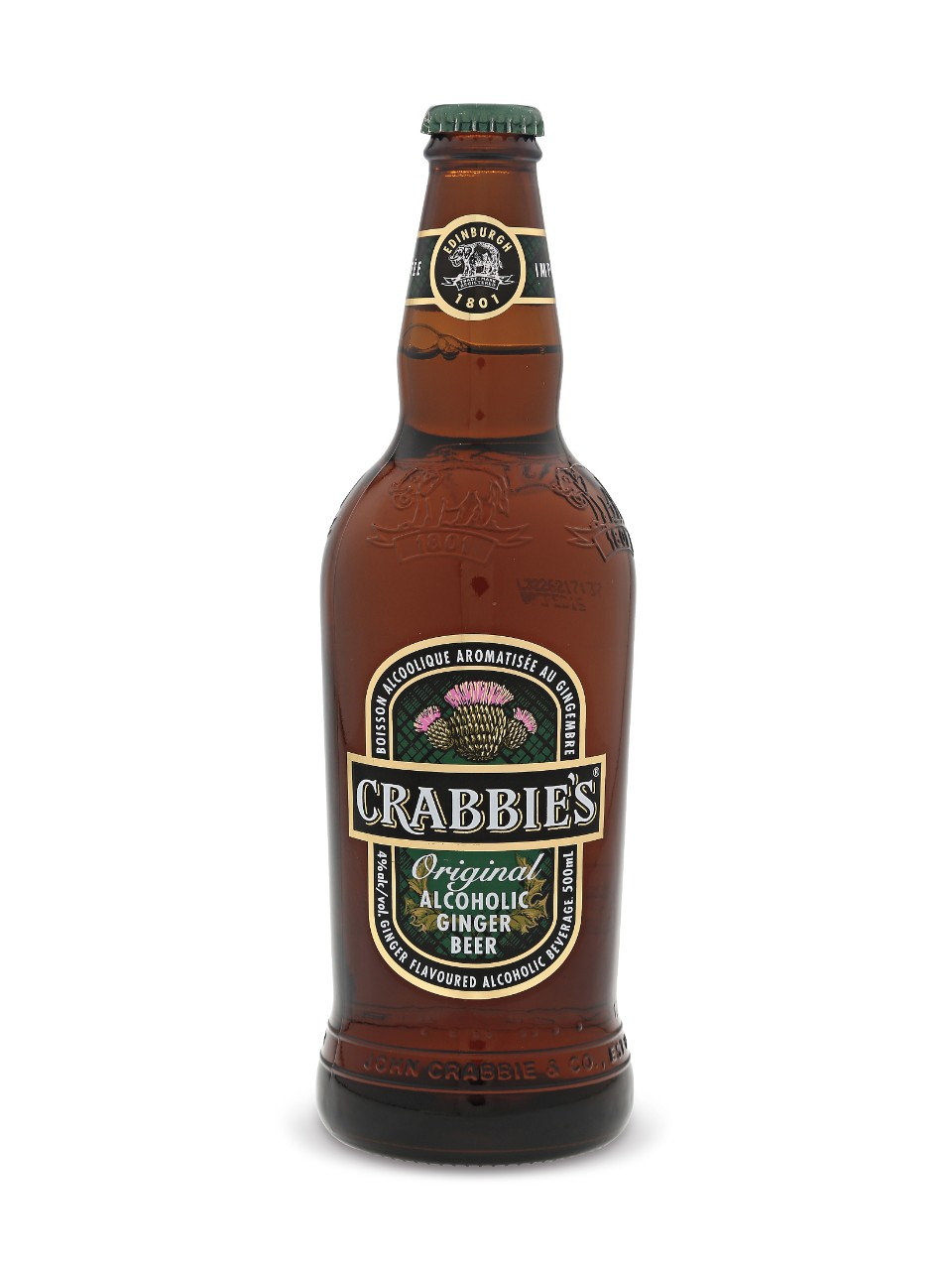 Crabbies Original Alcoholic Ginger Beer | LCBO