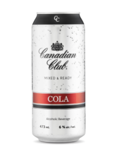 Canadian Club & Cola Mixed