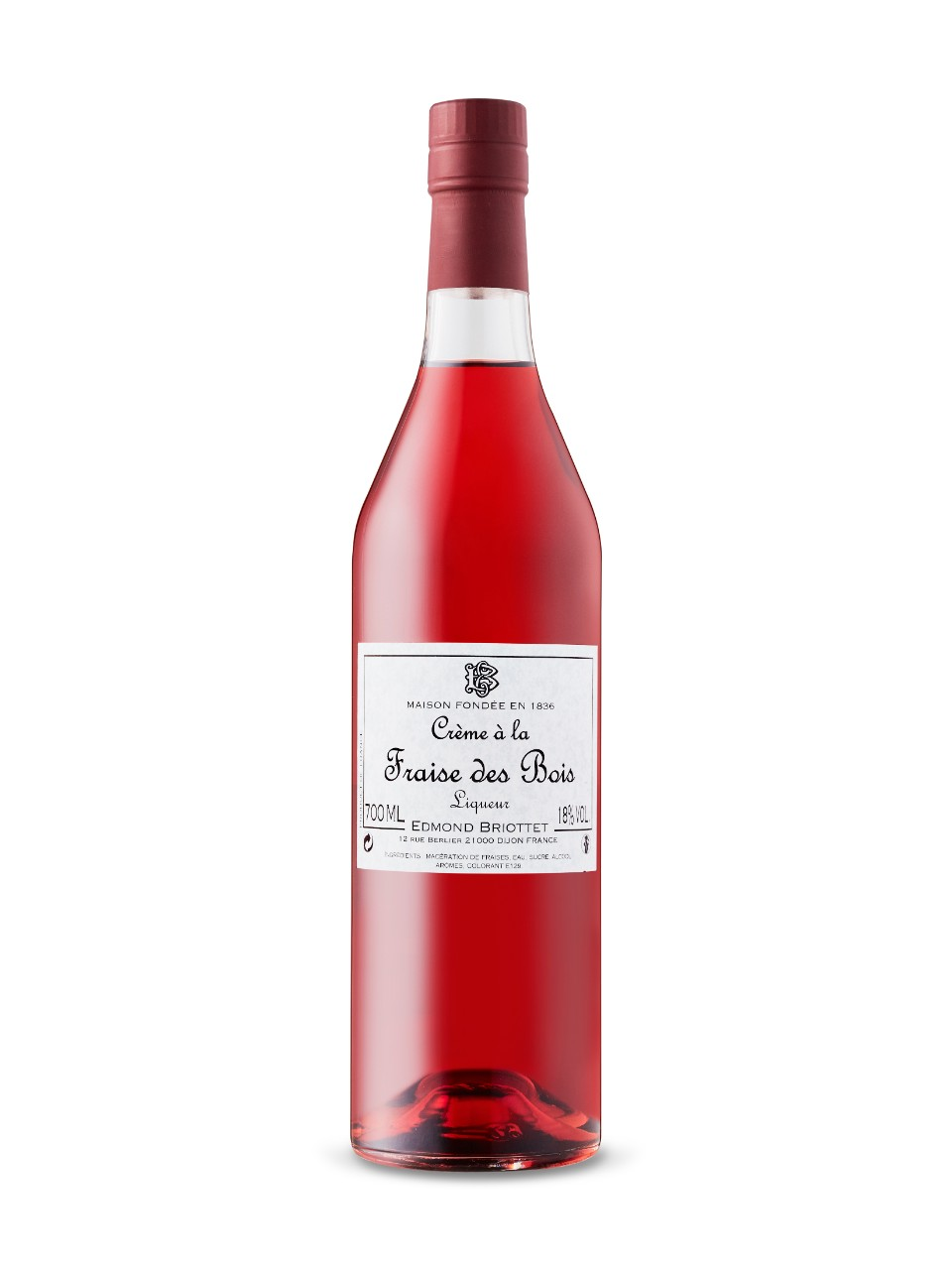 Image for Briottet Creme a la Frais De Boise - Strawberry from LCBO