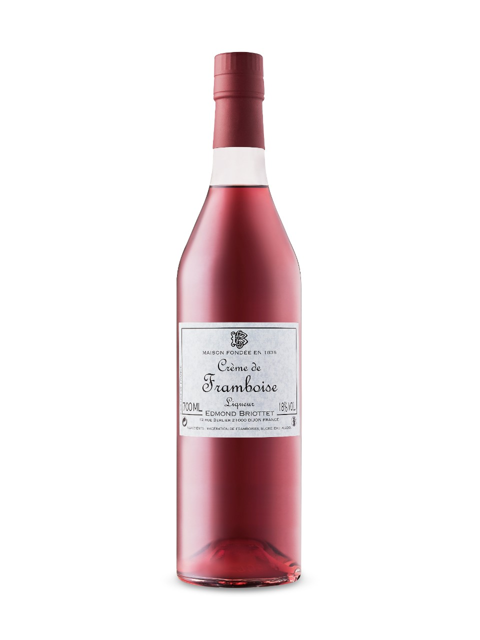 Image for Briottet Creme De Framboise - Raspberry from LCBO