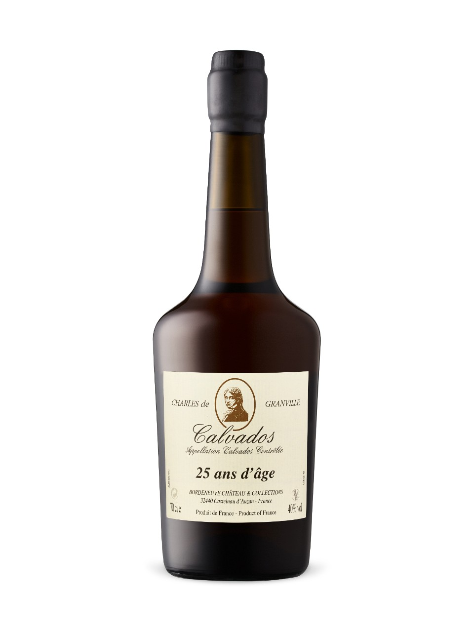 Image for Charles De Granville Calvados 25 Year Old from LCBO